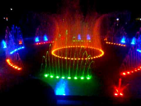 Grand Opening Of Pagadian Plaza Dancing Fountain Sept. 9, 2011 Part 1