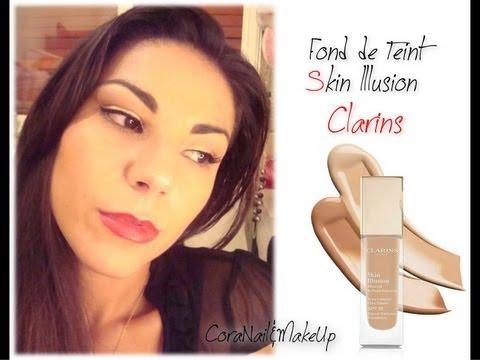 my base make up routine skin illusion foundation clarins. Black Bedroom Furniture Sets. Home Design Ideas