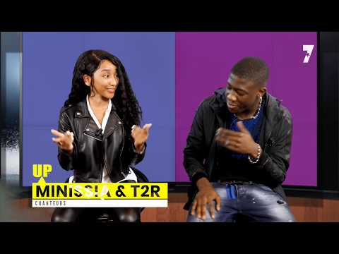 Youtube: MINISSIA & T2R « l'interview du couple star » 7 Entertainment Television