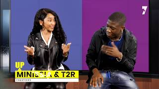 "MINISSIA & T2R ""l'interview du couple star"" 7 Entertainment Television"