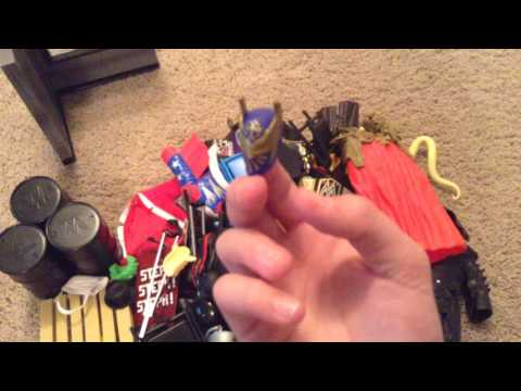 WWE action figure Accessories Collection