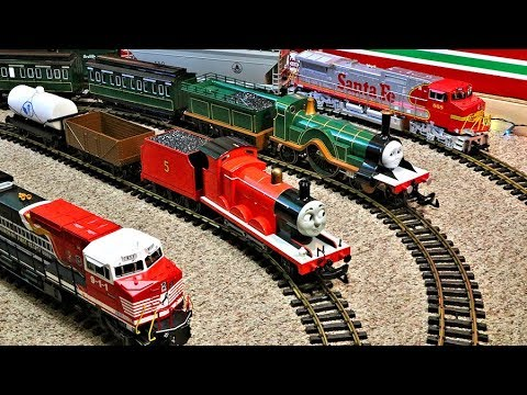 A Model Train Video For Kids (And The Young At Heart)