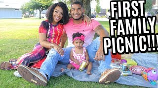 VLOG #139 | OUR FIRST FAMILY PICNIC! | NEVER HAD THIS BEFORE...
