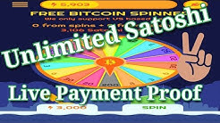 10,000 Satoshi Earn Daily by Free Bitcoin Spinner App | Live Payment Proof with Btc Wallet Coinbase