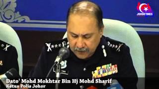 """""""Ops Cantas"""" berjaya menurunkan Index Jenayah - KP Johor"""