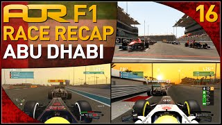 F1 2013 | AOR F1: S8 Round 16 - Abu Dhabi Grand Prix (Official Race Recap)