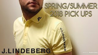 J Lindeberg Golf Clothing Spring + Summer 2018 Pick Ups! How YELLOW is this polo?!