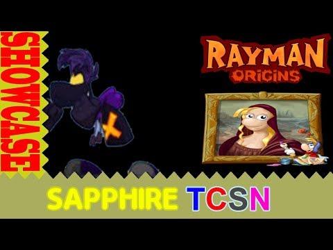 Rayman Origins Picture City Showcase With Dark Rayman