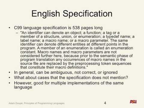"CSE 340 S16: 2-22-16 ""Semantics Pt. 2"""