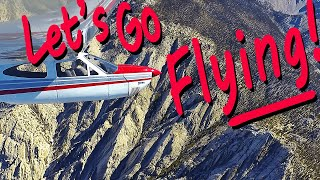 Let's Go Flying!  Lone Pine via Olancha Peak and Whitney Portal v1.1