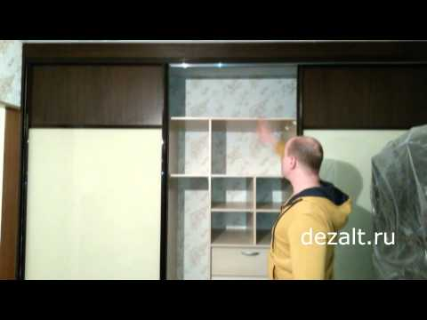 шкаф-купе со стеклом Лакобель!