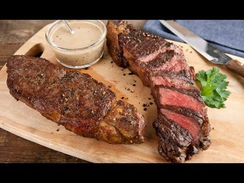 stefano Faita cook steak Frites Dinner