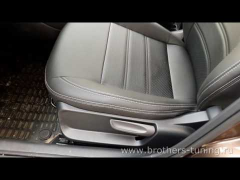 """Авточехлы для Volkswagen Polo, седан, серия """"Premium"""""""