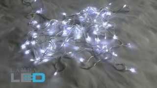 видео Разновидности светодиодных гирлянд