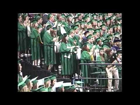 MSU College of Education Graduation 2015 MSU Fight Song