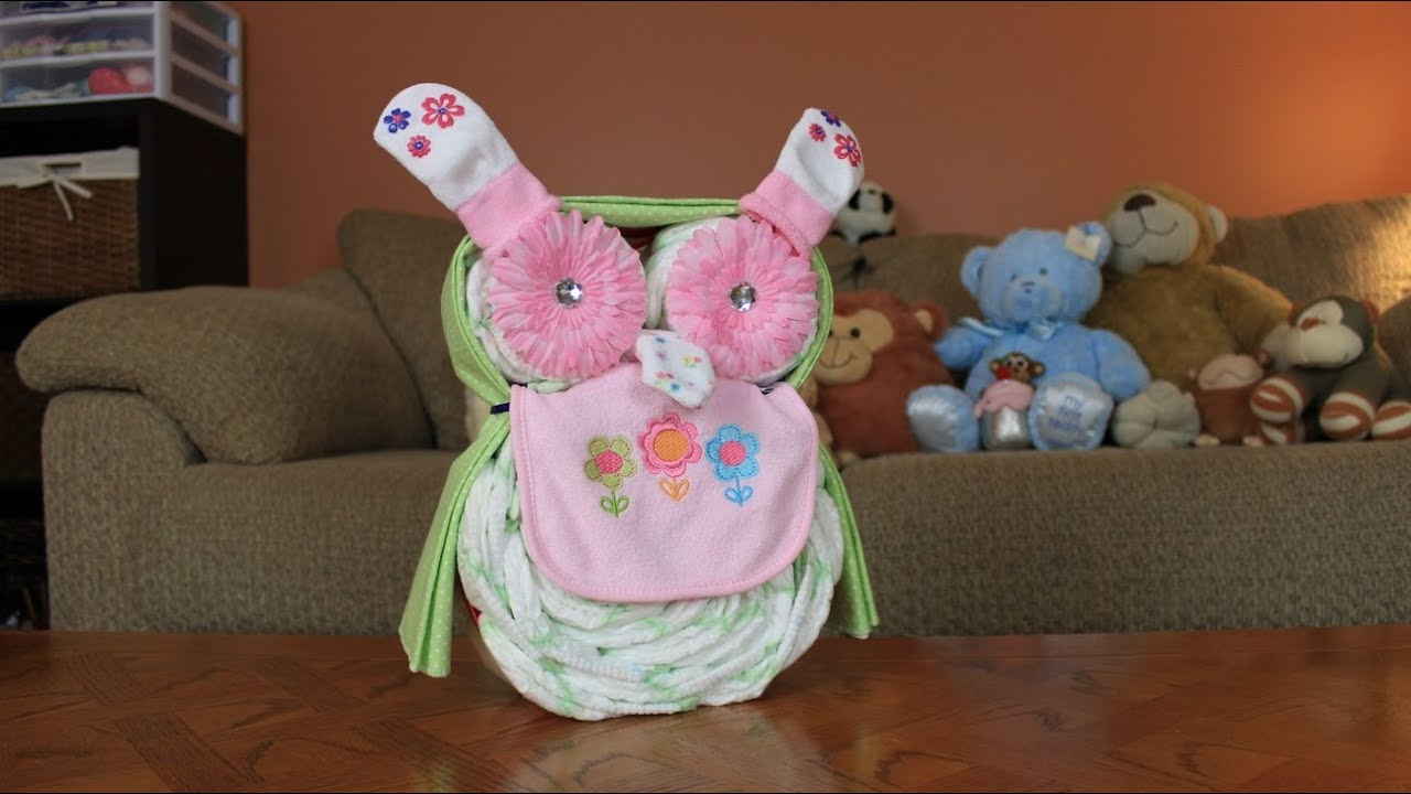 How To Make Baby Diaper Cakes Out Of Diapers