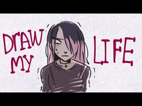 DRAW MY LIFE / Я нарисовала свою жизнь [КОРОТКО!]
