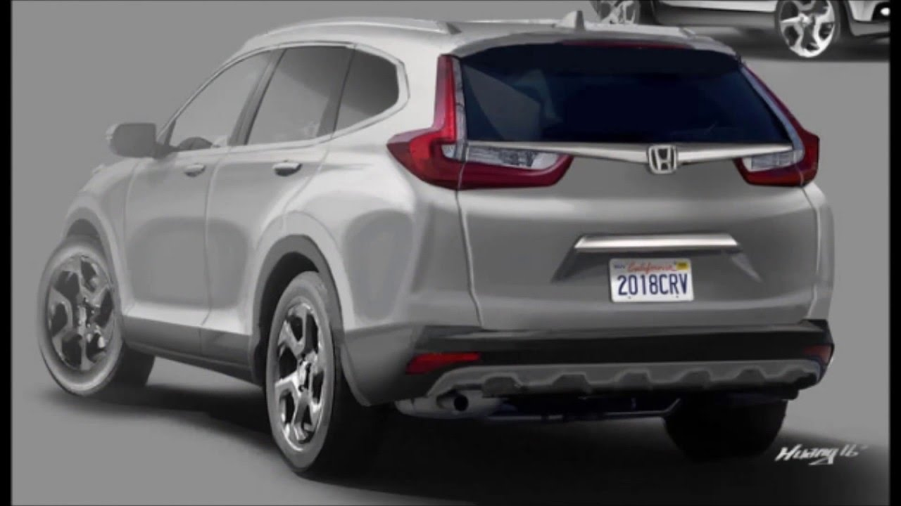 2018 Honda CR-V - YouTube