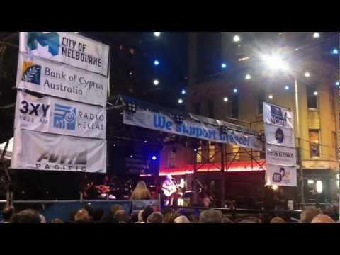 Pantelis Thalasinos at Antipodes Melbourne Australia 25/02/2012
