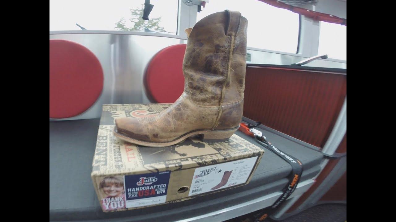 e2baa4d5ede Justin Boots Bent Rail BR733 Tan Road Review of Cowboy Boot Footwear