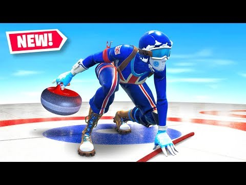 *NEW* CURLING Minigame in Fortnite Battle Royale