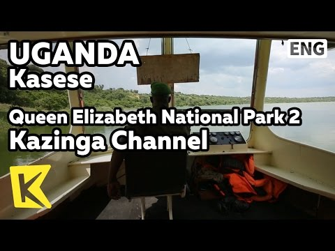 【K】Uganda Travel-Kasese[Uganda 여행-카세세]카징가 채널/Queen Elizabeth Park/Kazinga Channel/Boat tour/Unesco