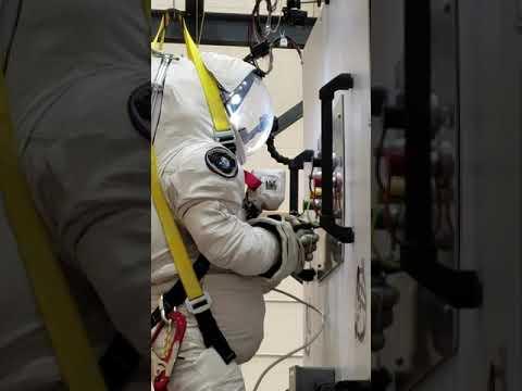EVA Suit Training At CSA 3