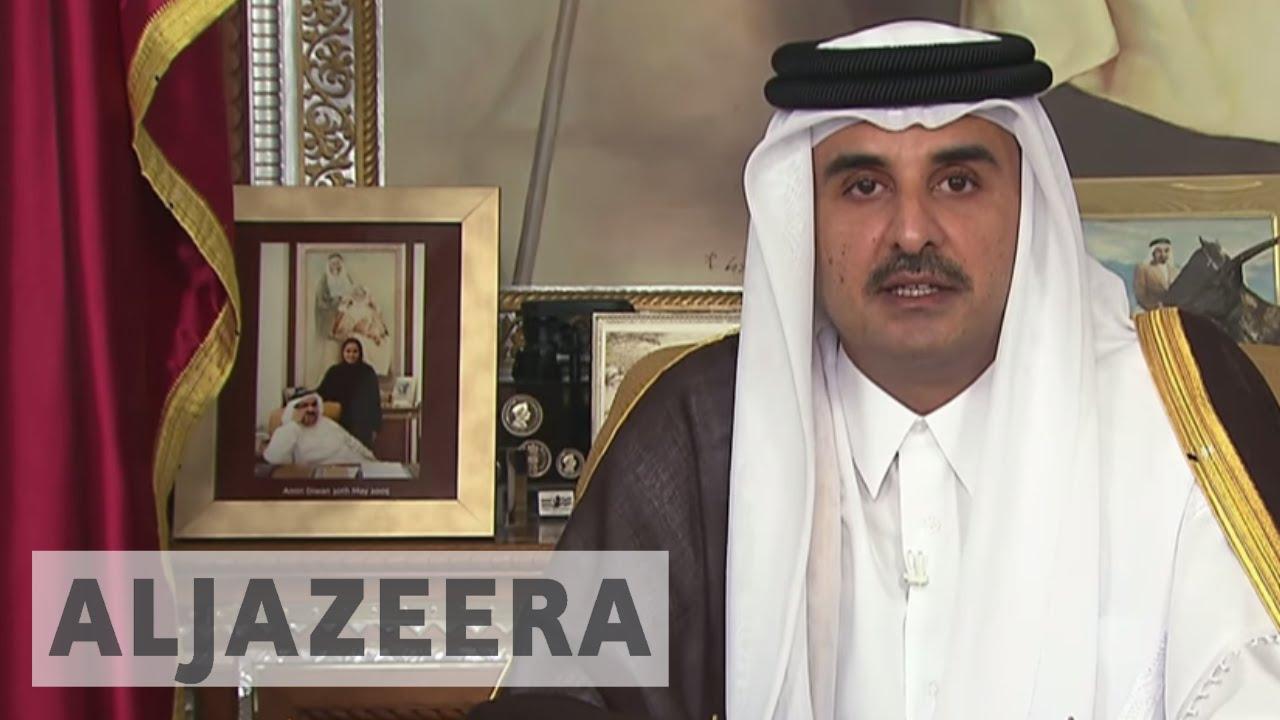 Qatar Emir: Any talks must respect sovereignty