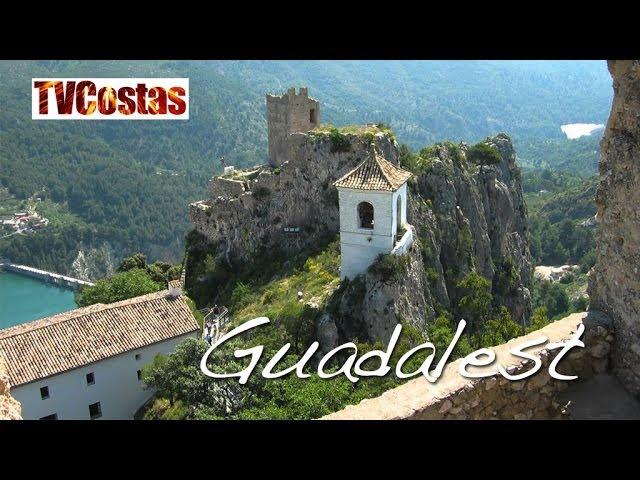 Guadalest (El Castell de Guadalest) Costa Blanca Spain (Tour)