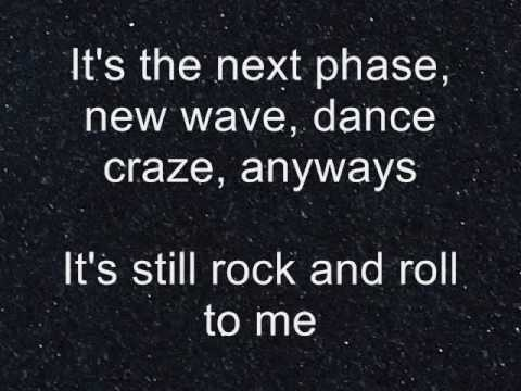 It's Still Rock and Roll To Me Billy Joel-Lyrics