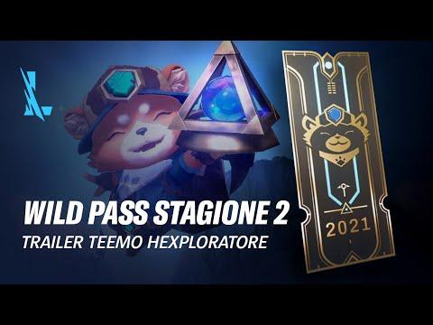 Wild Pass stagione 2 | Trailer Wild Pass - League of Legends: Wild Rift