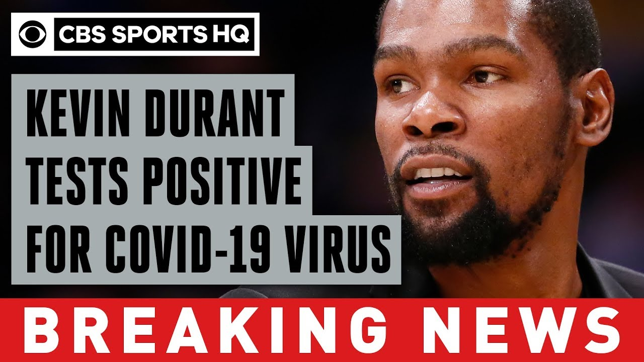 Kevin Durant Tested Positive for COVID-19