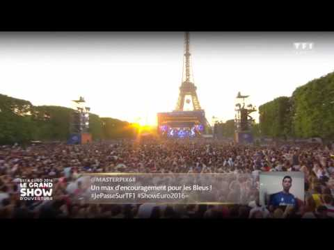 David Guetta Ft Zara Larsson - This One's For You (UEFA EURO 2016 Opening Concert)