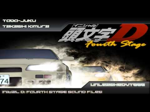 Initial D: Fourth Stage Soundtrack - TODO-JUKU