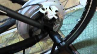 BionX PL 250 S - холостой ход