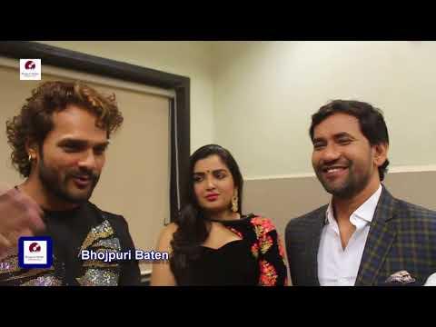 Bhojpuri Supar Star Khesari Lal, Dinesh Lal, Amarpali Dubey Attend Sabrang Awards Nov 2017