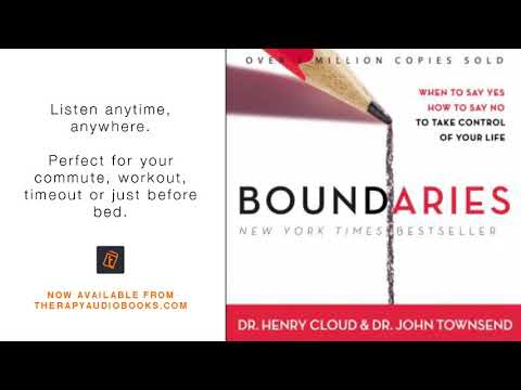 Boundaries When To Say Yes, How To Say No   Therapy Audiobooks