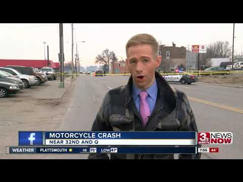 Motorcyclist dies after crash in South Omaha