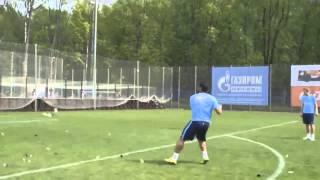 Hulk hits Ball so hard it explodes   Халк пнул мяч так сильно, что взрывается