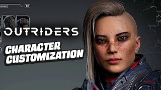 Outriders Character Customization Demo Gameplay