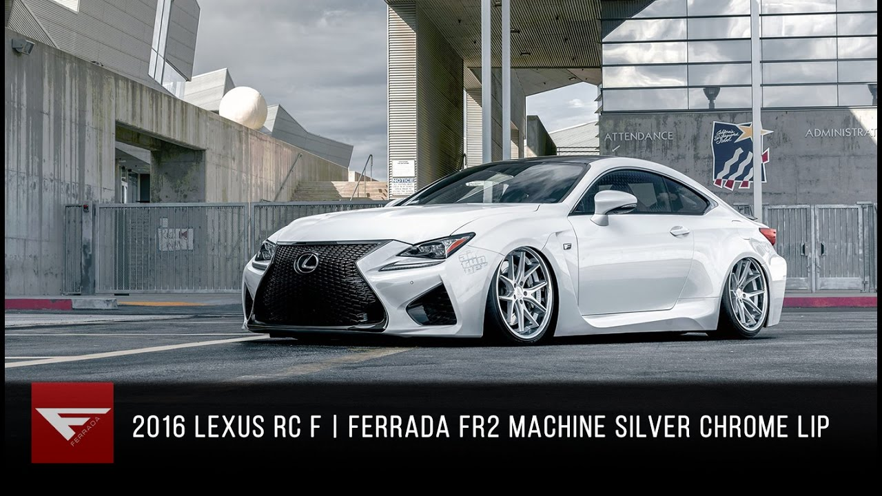 RoseGold_Lexus_RCF_HighRes-10 2016 Lexus Rc F Ferrada Fr2 In Machine Silver With