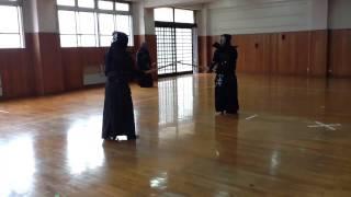 三保剣道クラブ稽古.