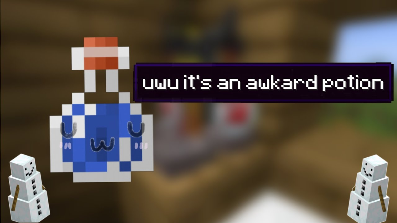 minecraft is a quirky game