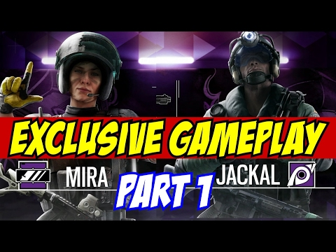 Rainbow Six Siege Jackal Mira GAMEPLAY Part 1 New Operators Spanish Coastline Velvet Shell