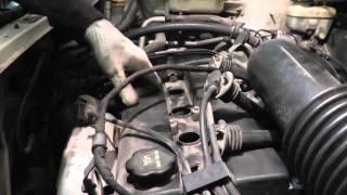 Мазда Трибьют: ремонт и обслуживание - Замена свечей