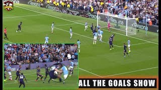VAR Saves Tottenham Man City 2 2 Tottenham  All The Goals  English Premier League