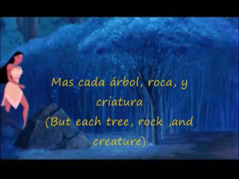 Colors of the wind EU Spanish Subs & Translation