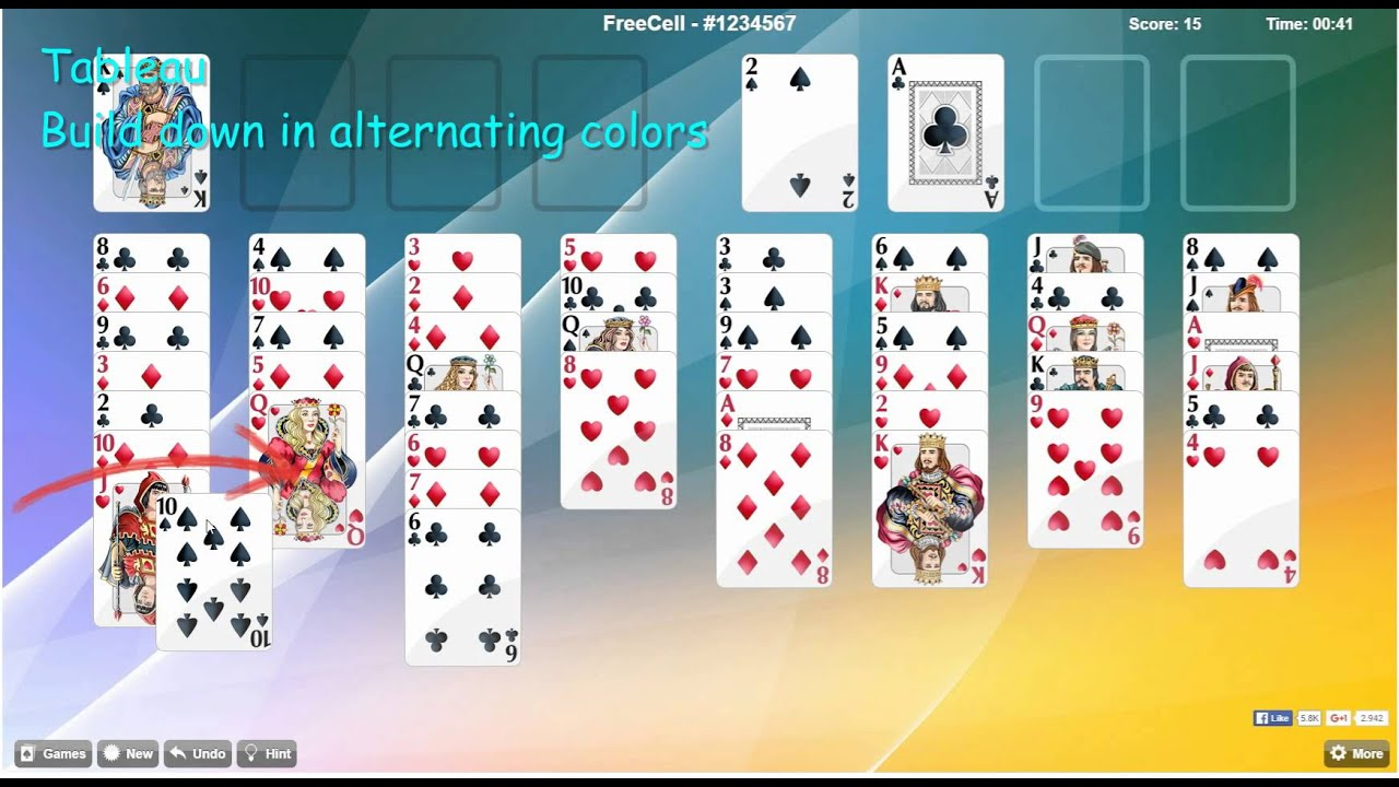 Free freecell solitaire free download for windows 10, 7, 8/8. 1 (64.