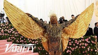 """Billy Porter's Ancient Egyptian """"Camp"""" Look at the 2019 Met Gala"""