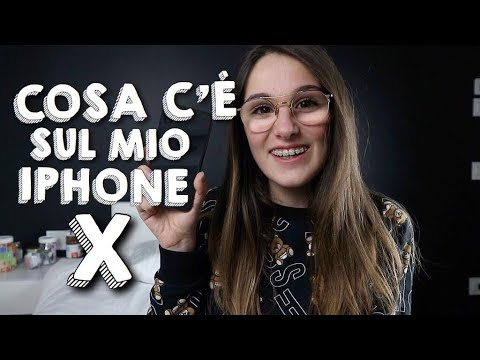 WHAT'S ON MY IPHONE X | Sofia Dalle Rive